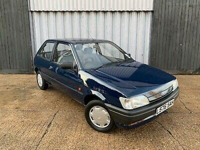 Stunning 1994 Ford Fiesta Fresco 1.1 **14,485 miles from new!!** unrestored