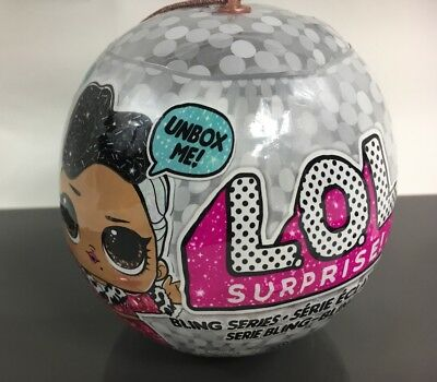LOL Surprise *BLING SERIES* (1) L.O.L. Holiday Christmas Ball Mystery Blind NEW