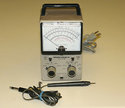 Advance Schools, Inc VTVM Heath Vacuum Tube Voltmeter - Model 1MB-18-2 - Repair