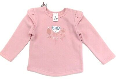 BNWT TARGET baby Girls Size 1 Sweater Jumper Pink 12-18 Months New