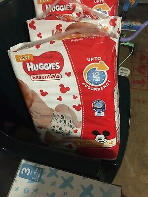 Huggies Essential Nappies size 3
