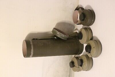 NATO NBC 40MM Gas Mask Filters Israeli Military Type  in Tube