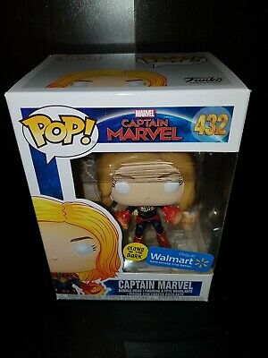 Funko Pop #432 Captain Marvel Exclusive Walmart  *Sale read post