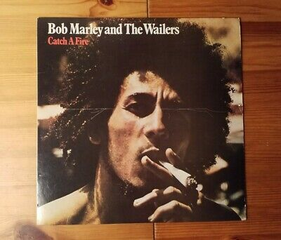 Bob Marley and the Wailers - Catch a Fire Vinyl LP Island Records ILPS 9241