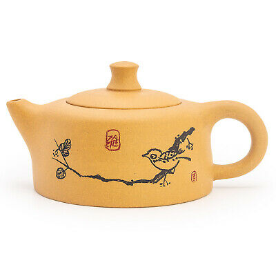 Chinese Yixing Xishi Handmade Tea Pot Zisha Purple Clay Teapot Duan Ni Pot 180cc