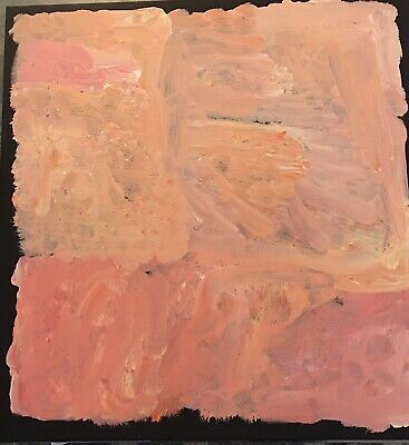 A Gem (Genuine) Kudditji Kngwarreye 55cm X 55cm. Professionally Stretched.