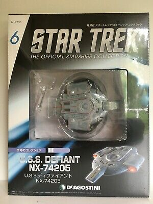 DeAgostini Japan USS Defiant No 6 Star Trek The Official Starship Collection