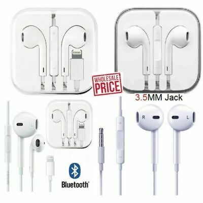 New For Apple iPhone 5 6 7 8 Plus X XS MAX XR Wired Headphones Headset Earbuds G