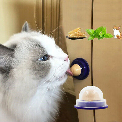 1pc Cat Snacks Sugar Candy Licking Solid Nutrition Energy Ball Toy Healthy