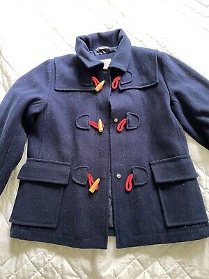 Girls Country Road Wool Duffle Coat Jacket Excellent Condition Sz 12