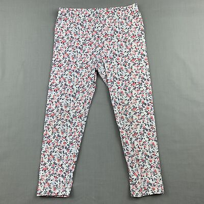 Girls size 2, Baby by DJs, stretchy floral leggings / bottoms, FUC