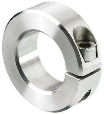Huco SHAFT COLLAR One Piece Clamp Screw, Stainless Steel- 3mm Or 8mm