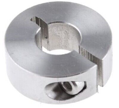Huco SHAFT COLLAR One Piece Clamp Screw, Stainless Steel- 10mm Or 12mm
