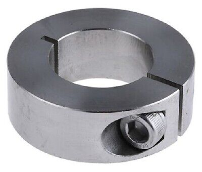 Huco SHAFT COLLAR One Piece Clamp Screw, Stainless Steel- 25mm Or 30mm
