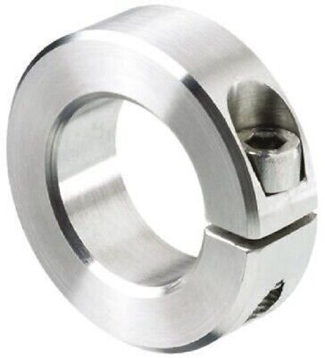 Huco SHAFT COLLAR One Piece Clamp Screw, Stainless Steel- 35mm Or 40mm