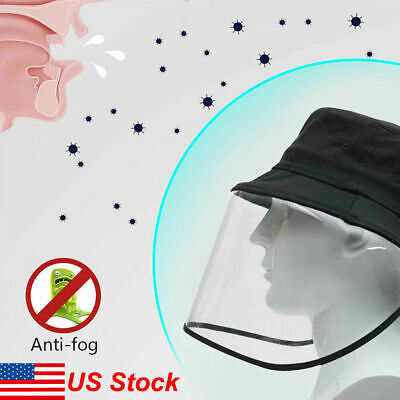 Protection Anti Saliva Hat Splash Dust Proof Full Face Shield Cover Fishman Cap