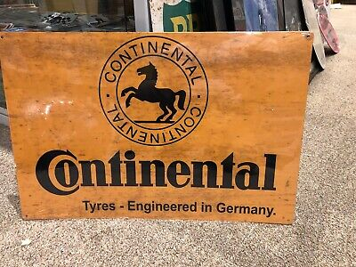 Continental Tyre Retro Metal Sign