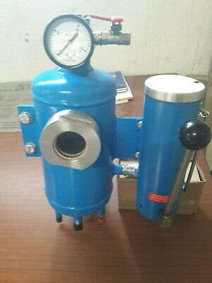 Thermosiphon vessel 3L steel for mechanical seal lubrification