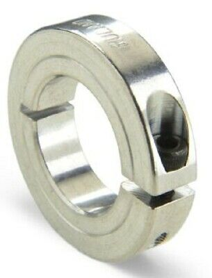 Ruland SHAFT COLLAR 45mm OD, One Piece Clamp Screw, Aluminium- 20mm Or 25mm