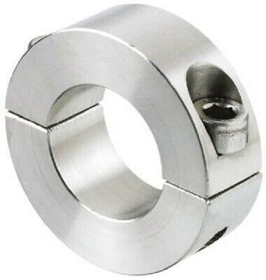Huco SHAFT COLLAR Two Piece Clamp Screw, Stainless Steel- 10mm Or 12mm