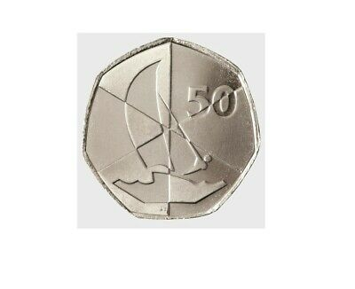 Island Games - 50p Coin - Commemorative