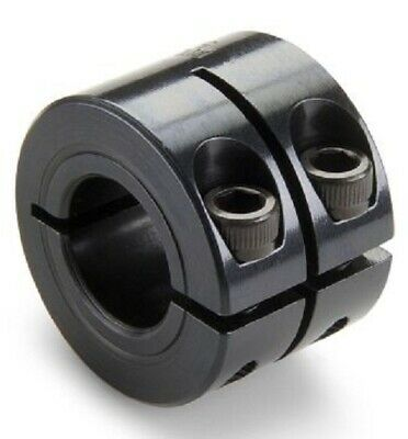 Ruland SHAFT COLLAR 20mm Bore, Double Wide One Piece Clamp Screw, Black Oxide