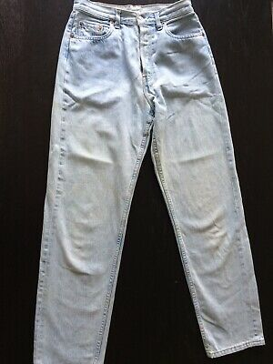 Vintage Levi's 501 Coneflower Barn Size W30 L32 Original Jeans From 1980's Great