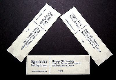 Liners Hygienic Protective for Swimwear Lingerie Adhesive Strip Lot of 100 NEW