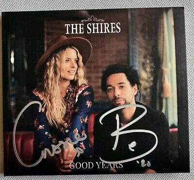 The Shires - Good Years Autographed Cd  Hand Signed New