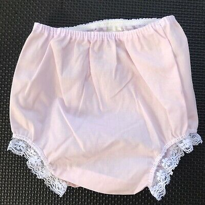 Vintage Bloomers (diapers cover) Alexis pink with lace