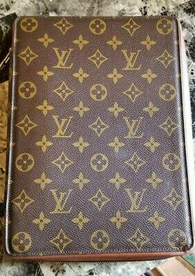 authentic Louis Vuitton large voyage zip around agenda, 28 years old