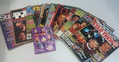 Lot of Magazines Star Trek Articles Covers TV Guide Time Omni Starlog Platinum