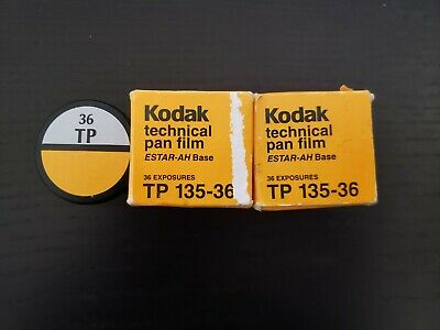 3 Rolls Kodak Technical Pan Film (Techpan) - Stored Frozen so it is still good!