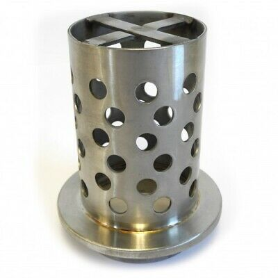 Perforated Stainless Steel Casting Flask Ø88mm Height 152mm for Burnout - TC077