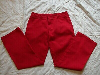 Women's Dickies Red Pants - Size 9