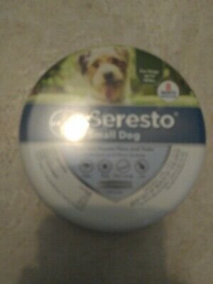 Bayer Seresto Flea & Tick Collar for Small Dogs UP TO 18lbs  FACTORY SEALED