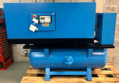 Boge C20LDRSSH Receiver Mounted Rotary Screw Compressor With Dryer! 79.5 Cfm!