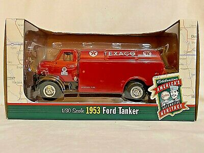 1953 Die Cast Ford Texaco Tanker - 1/30 Scale