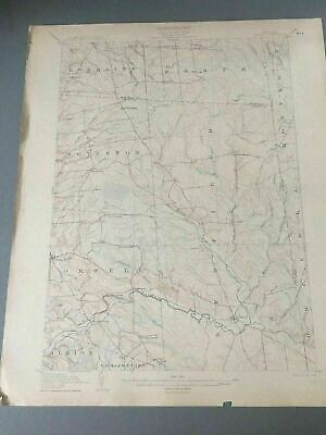 US Geological Survey Topography Map,1905  Quadrangle Orwell New York
