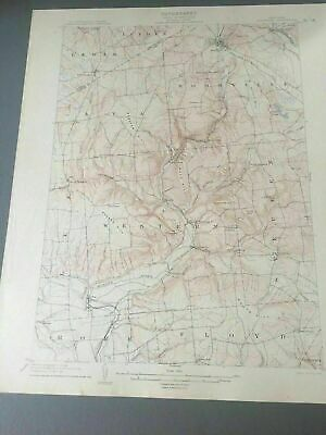 US Geological Survey Topography Map,1904 Quadrangle Boonville , New York