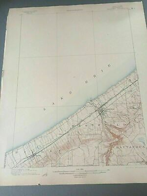 US Geological Survey Topography Map,1903 Quadrangle Westfield, New York
