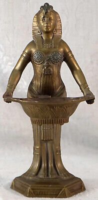 Antique 1920's Vantines Art Deco Egyptian Revival Incense Burner Made in France