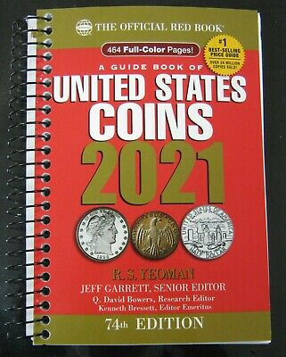 2021 Whitman Official Red Book United States Coins. New! Shipping Now!