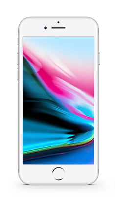 Apple iPhone 8 Plus 64GB Silver A1897 GSM Unlocked AT&T T-Mobile - Fair