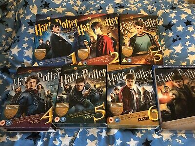 Harry Potter Ultimate Collection 1-7 Blu-ray /Dvd Boxset