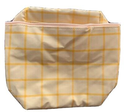 NOS Yellow Baby Bottle Insulated Bag - Holds at Least 2 Bottles