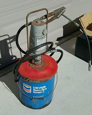 Aro 612 280 D, Air Pneumatic Oil Grease Transfer Pump 150 Psi In 7500 Psi Output