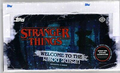 Stranger Things Welcome To The Upside Down Trading Card Hobby Box