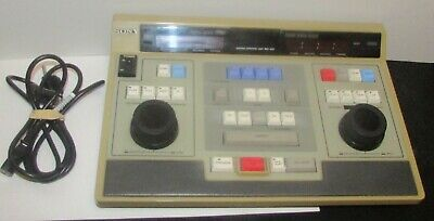 Sony Editing Control Unit RM-450 & Power Cord Commercial Audio Video Equipment