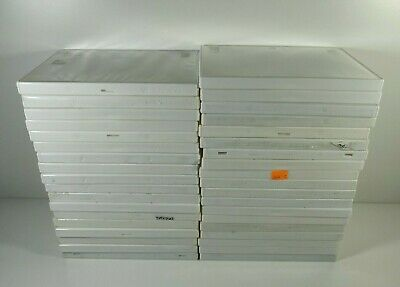Nintendo Wii Lot of 35 Empty Game Cases Only White